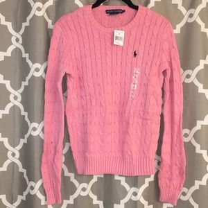 NWT Ralph Lauren cable knit sweater